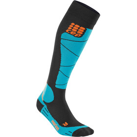 cep Merino Ski Socks Women black/azur